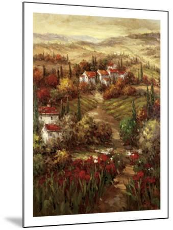 Tuscan Village-Hulsey-Mounted Art Print