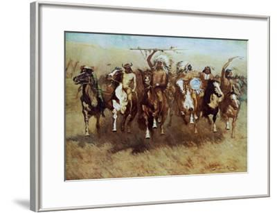 Victory Dance-Frederic Sackrider Remington-Framed Art Print