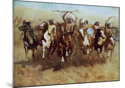 Victory Dance-Frederic Sackrider Remington-Mounted Art Print