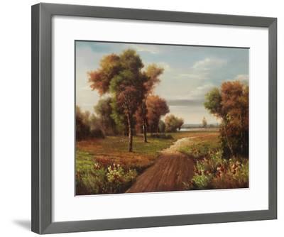 Fisherman Trail-Lazzara-Framed Art Print