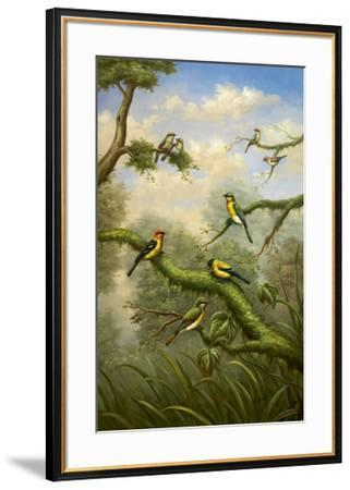 Morning Gathering I-Bilben-Framed Art Print