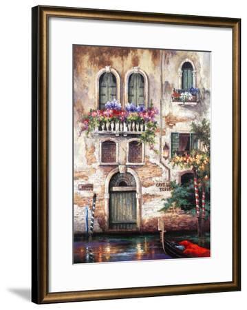 Door to Italy-Alma Lee-Framed Art Print