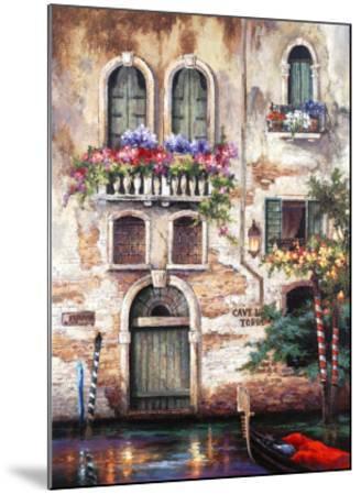 Door to Italy-Alma Lee-Mounted Art Print