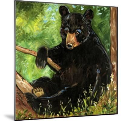 Baby Bear-Suzanne Etienne-Mounted Art Print