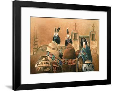 Mission Trio-Alma Lee-Framed Art Print
