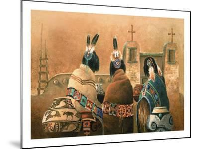 Mission Trio-Alma Lee-Mounted Art Print