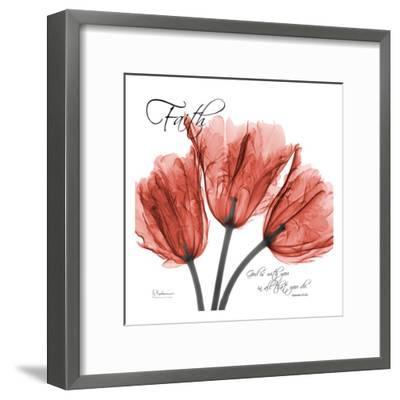 Royal Red Tulip, Faith-Albert Koetsier-Framed Art Print