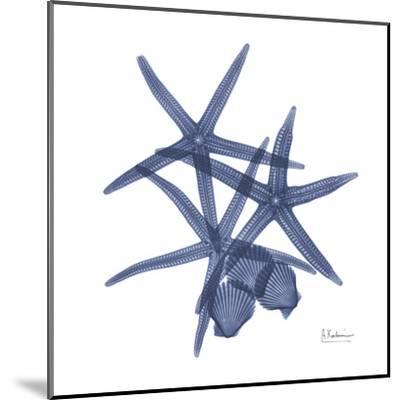 Sea Life in Blue-Albert Koetsier-Mounted Art Print