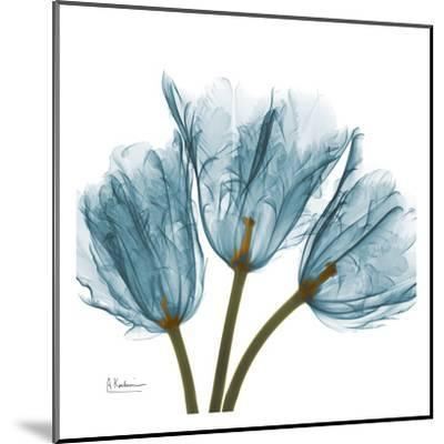 Tulips in Blue-Albert Koetsier-Mounted Art Print