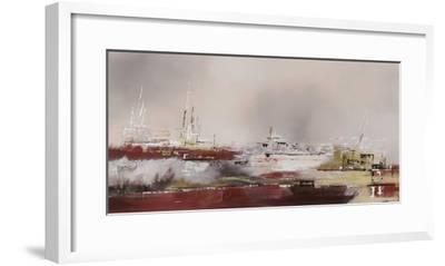 La Rade-Elisa Godefroid-Framed Art Print