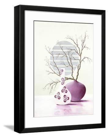 Purple Inspiration I-David Sedalia-Framed Art Print