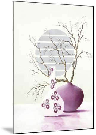 Purple Inspiration I-David Sedalia-Mounted Art Print