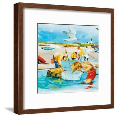 La Pêche-Lizie-Framed Art Print