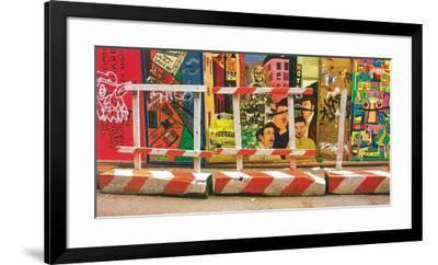 Fenêtres Sur Rue, New-York-Sylvie Barco-Framed Art Print