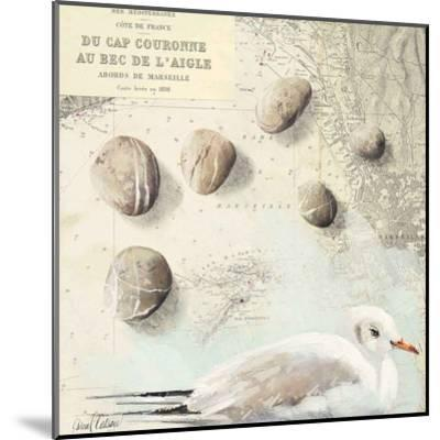 Galets Cap Couronne-Pascal Cessou-Mounted Art Print