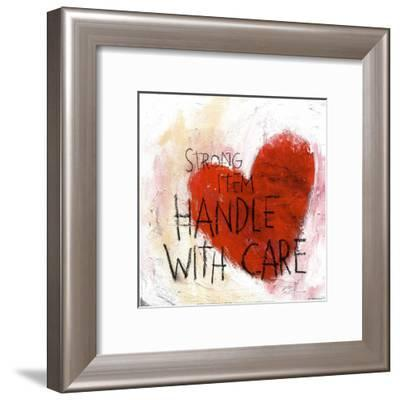 Handle With Care--Framed Art Print