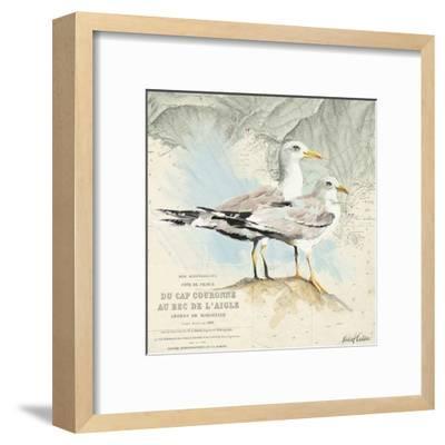 Mouettes Cap Couronne-Pascal Cessou-Framed Art Print