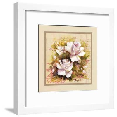 Roses Blanches-Pascal Cessou-Framed Art Print