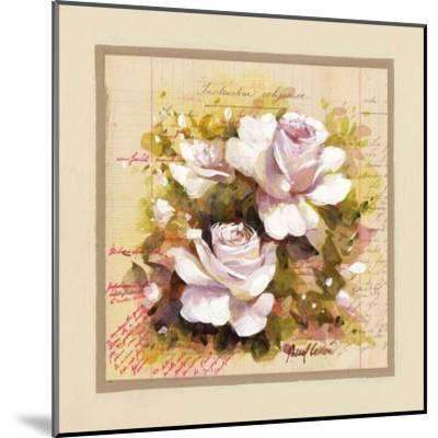 Roses Blanches-Pascal Cessou-Mounted Art Print