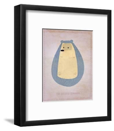 The Hirsute Hedgehog-John Golden-Framed Art Print