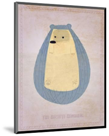 The Hirsute Hedgehog-John Golden-Mounted Art Print