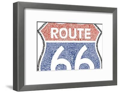 The Legendary Route 66--Framed Art Print