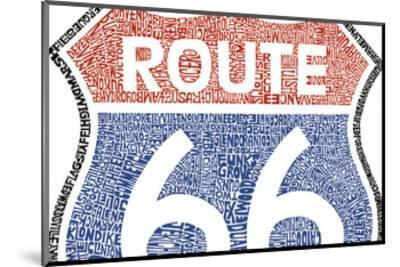 The Legendary Route 66--Mounted Art Print