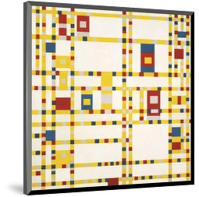 Broadway Boogie Woogie-Piet Mondrian-Mounted Art Print