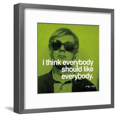 Everybody--Framed Art Print