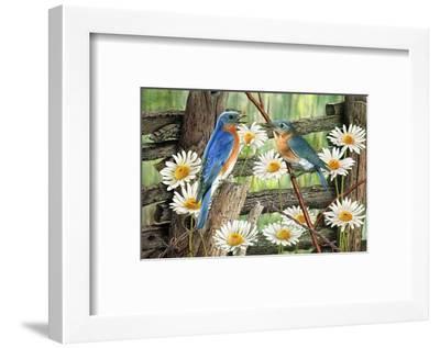 Serenade in Blue-Al Dornish-Framed Art Print