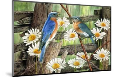 Serenade in Blue-Al Dornish-Mounted Art Print