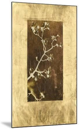 Gold Leaf Branches I-Tang Ling-Mounted Art Print