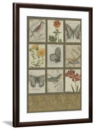 Antique Vignette I--Framed Art Print