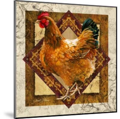 Mother Hen-Janet Stever-Mounted Art Print