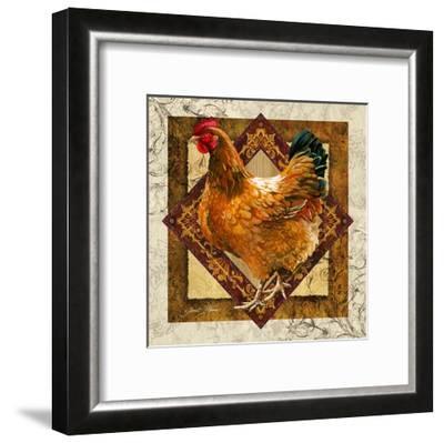 Mother Hen-Janet Stever-Framed Art Print