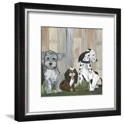 Sit and Stay II-Lisa Choate-Framed Art Print