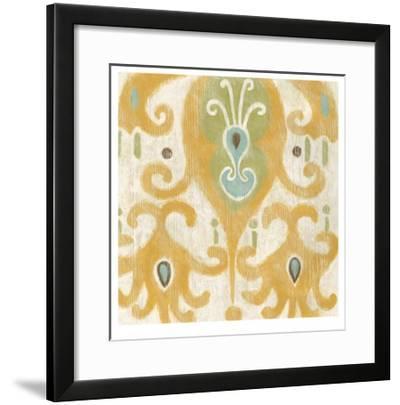 Serene Ikat IV-Chariklia Zarris-Framed Limited Edition