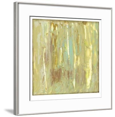 Lime Fusion II-Jennifer Goldberger-Framed Limited Edition