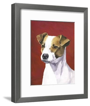 Dog Portrait, Jack-Jill Sands-Framed Art Print
