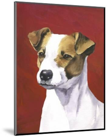 Dog Portrait, Jack-Jill Sands-Mounted Art Print