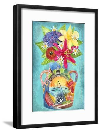 Annapolis Bouquet-Kaeli Smith-Framed Art Print