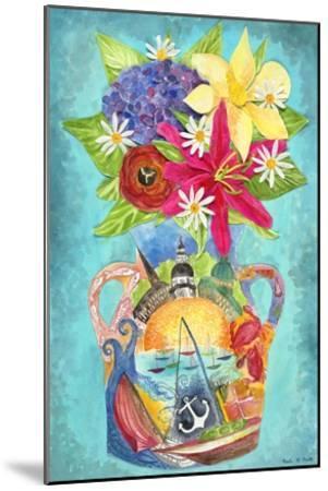 Annapolis Bouquet-Kaeli Smith-Mounted Art Print
