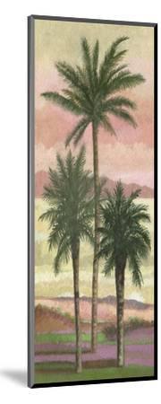 Blush Palms II-Victor Valla-Mounted Art Print
