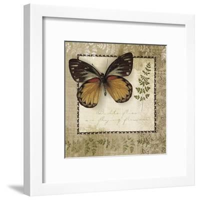 Butterfly Notes V--Framed Art Print