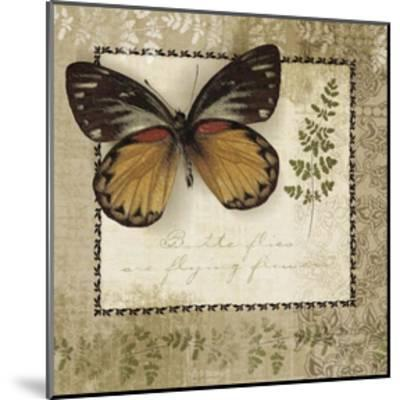 Butterfly Notes V--Mounted Art Print