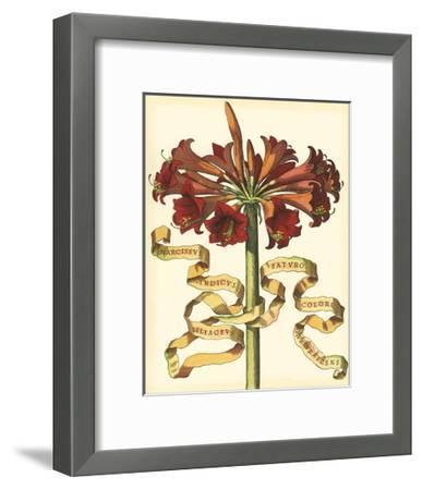 Ribbon Florals I--Framed Art Print