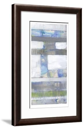 Fluid Neutrals II-Jennifer Goldberger-Framed Limited Edition