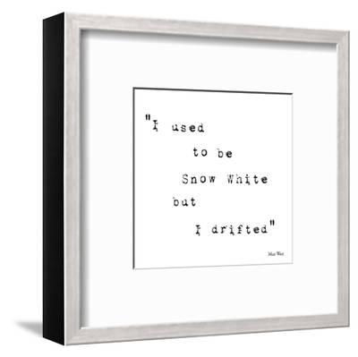 True to Type IV-Maria Mendez-Framed Art Print