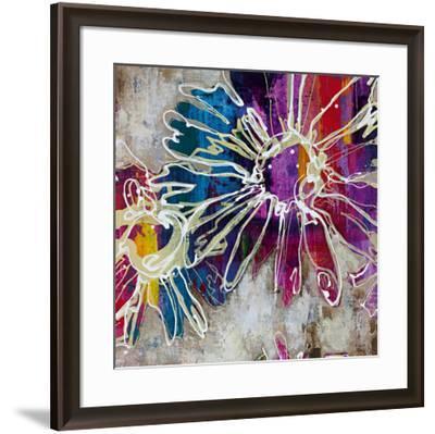 Floral Kick I-Bridges-Framed Art Print