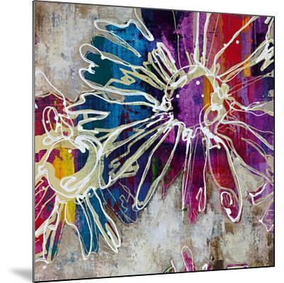 Floral Kick I-Bridges-Mounted Art Print